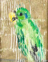 Untitled (Green Bird)