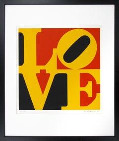 "Robert Indiana, ""Love (German Love)"", 1968, (35/100)"