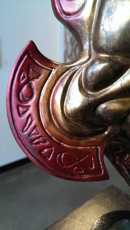 Ascension - Art Nouveau Sculpture by John Maisano