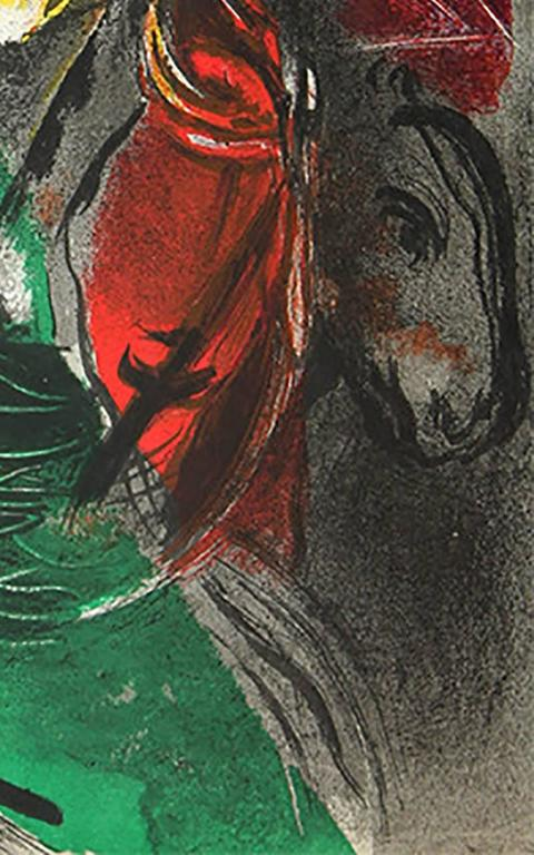 Marc Chagall - Jeremiah, Print For Sale at 1stdibs Chagall Gouaches Jeremia
