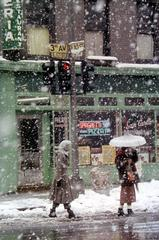 Saul Leiter - Untitled (San Carlo Restaurant at 3rd Avenue and E. 10th Street)