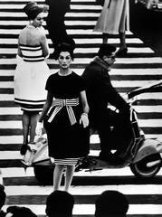 William Klein - Nina + Simone, Piazza di Spagna, Rome (Vogue)