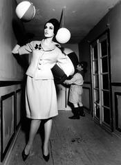 William Klein - Dorothy in Room + Scout + Balloon, Paris (Vogue)