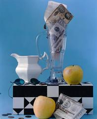 Composition with Apples, Pitcher and Confederate Money, NYC