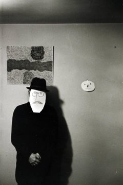 """Mask Portrait"" from the Series with Saul Steinberg"