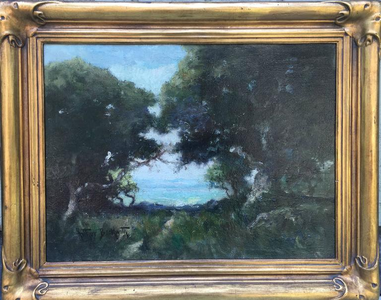 Arthur Beckwith Landscape Painting - Opening Through the Trees