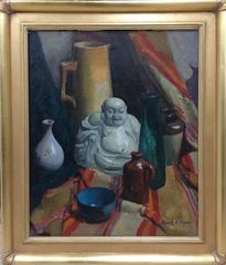 Buddha with Vases
