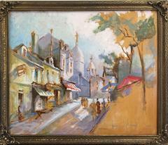 Parisian Street Scene