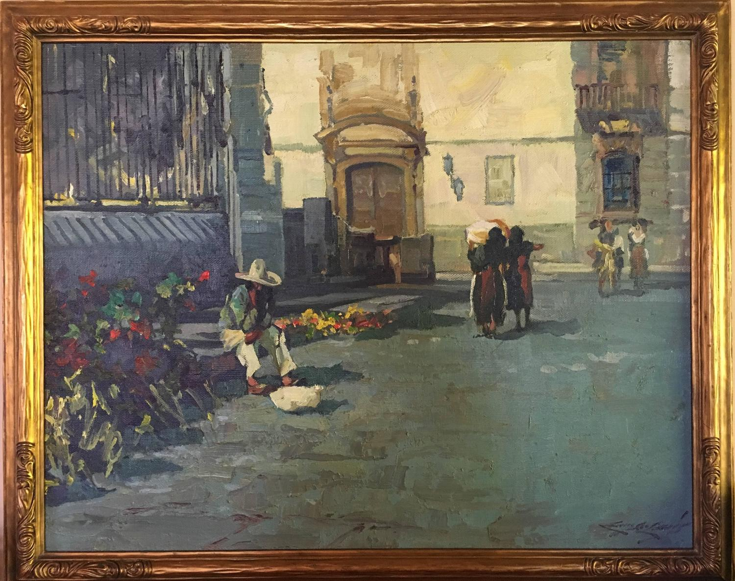 Harry Emerson Lewis Mexican Flower Vendor For Sale At 1stdibs