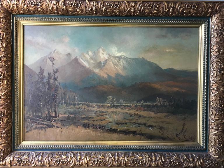 Mountain Landscape, Colorado Springs
