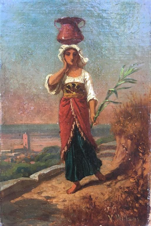 Peasant Girl with Jug