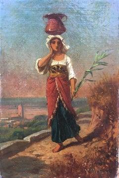 Peasant Girl with Jug