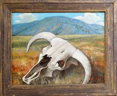 Skull on the Prairie, Landscape