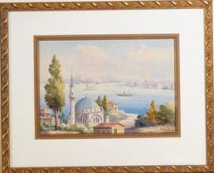 Harbor Scene, Istanbul