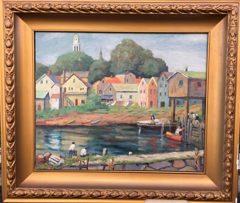 Professional Guaranteed House Painting Western Springs: Gloucester From Shore, Painting For Sale At