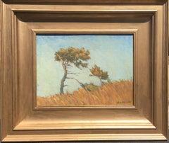 Southwest Plains Oil Painting by Ben Shahn,