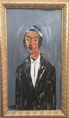 Portrait of a Hassidic Boy