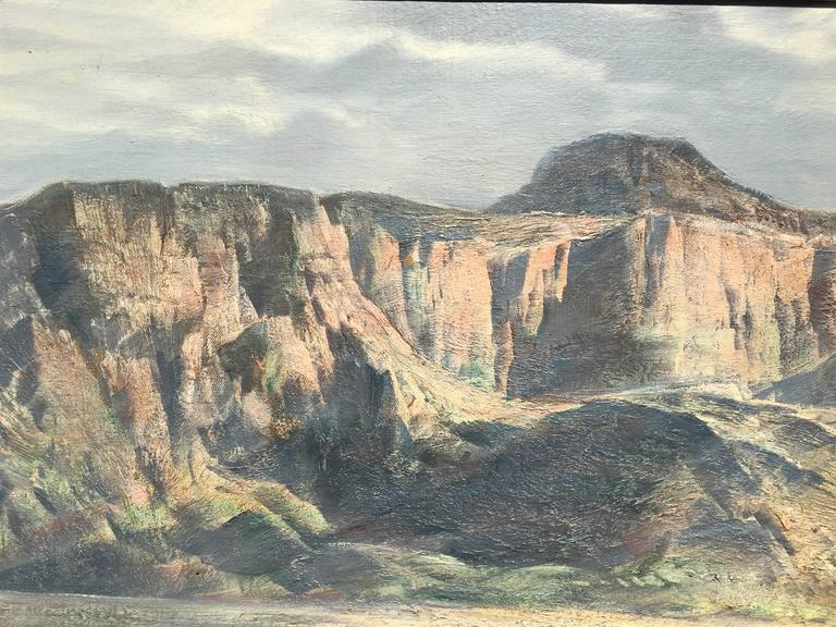 Arizona Mountains - Painting by Paul Lauritz