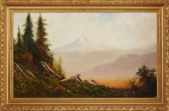 Landscape with observing Indians