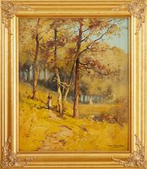 Figure in an Autumn Landscape