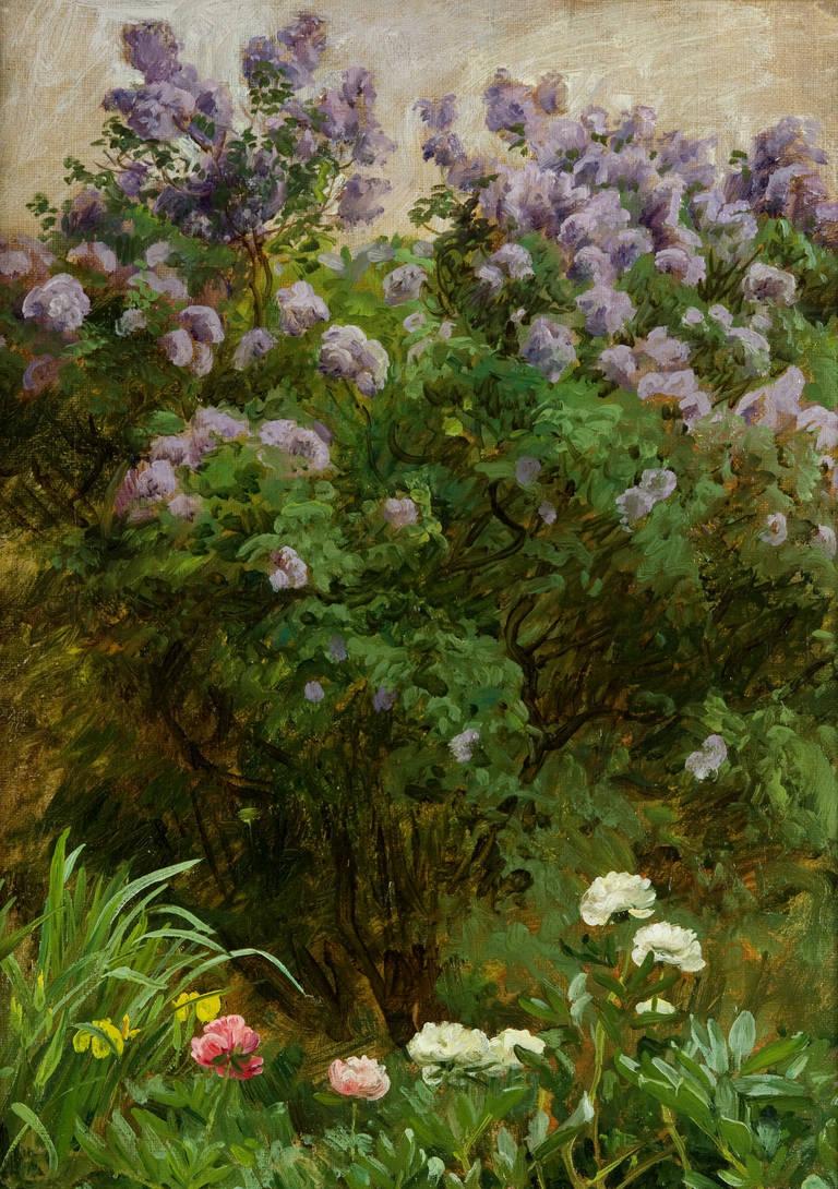 Joakim Skovgaard - Flowers in the garden 1