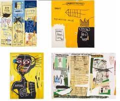 Basquiat Estate Prints Set of Four