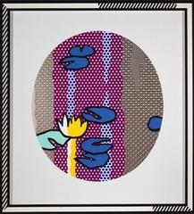 Roy Lichtenstein - Blue Lily Pads