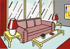 Roy Lichtenstein - Red Lamps