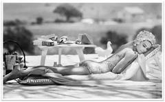 Terry O'Neill - Audrey Hepburn Poolside