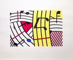 Roy Lichtenstein - Composition IV