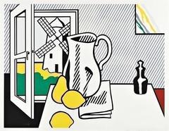 Roy Lichtenstein - Still Life with Windmill