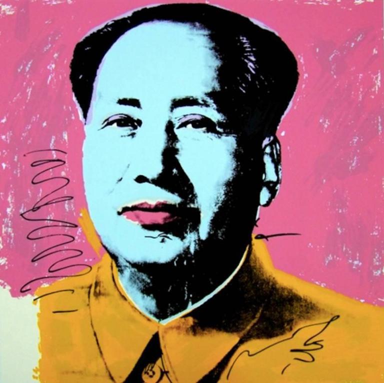 Mao 91, 1972, by Andy Warhol