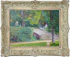 The garden, Cat. rais. Nr. 248, earliest artwork known by Ferdinand du Puigadeau
