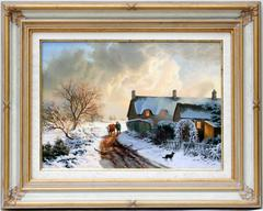 Cottage in Winter, Great Tew