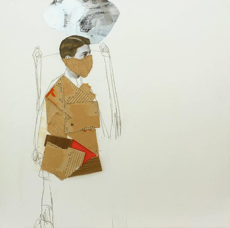 Luis Garcia-Nerey - Stele Series Clay 1