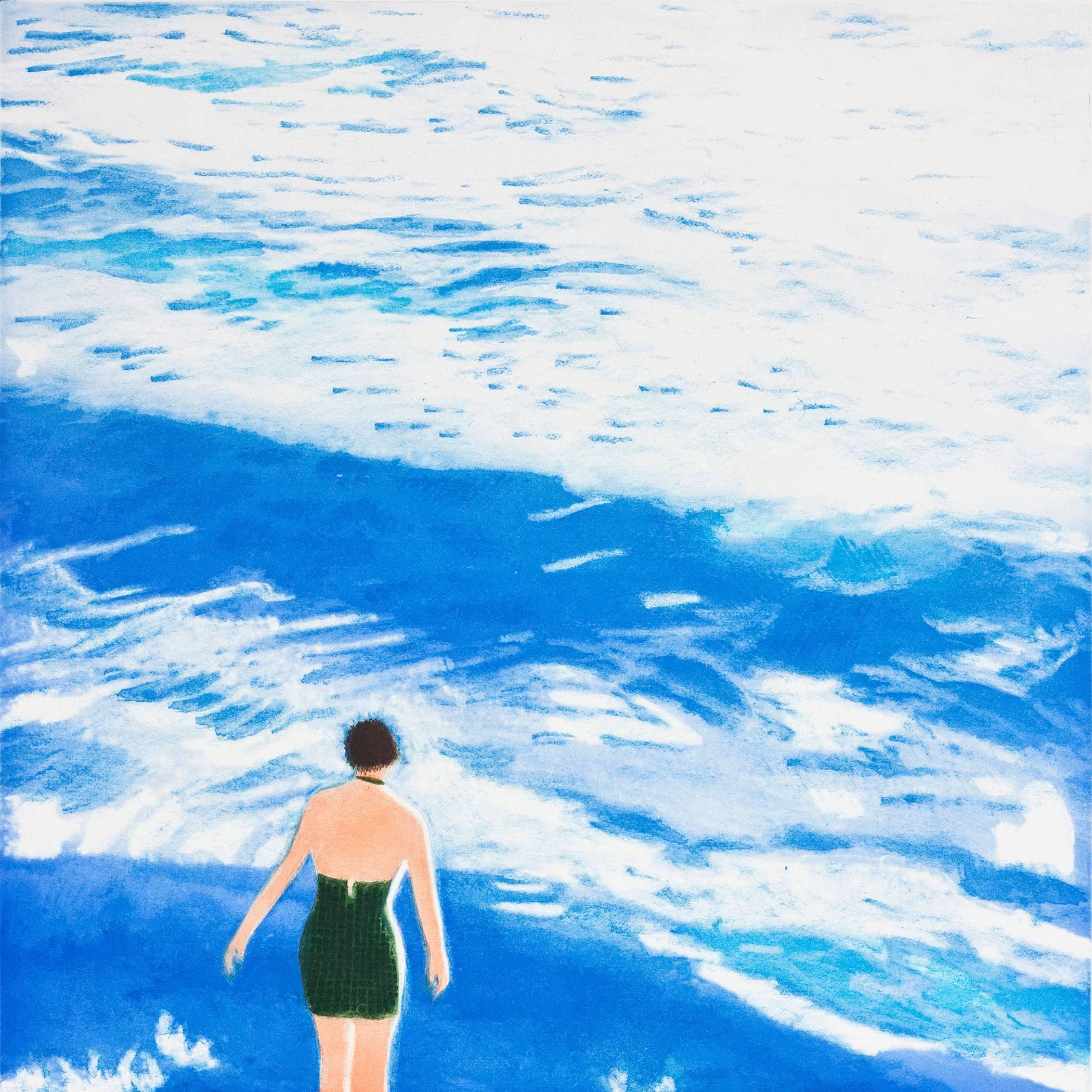 Wading I (Blue)