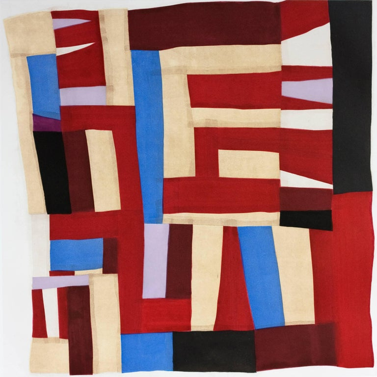 Mary Lee Bendolph Abstract Print - Fourteen