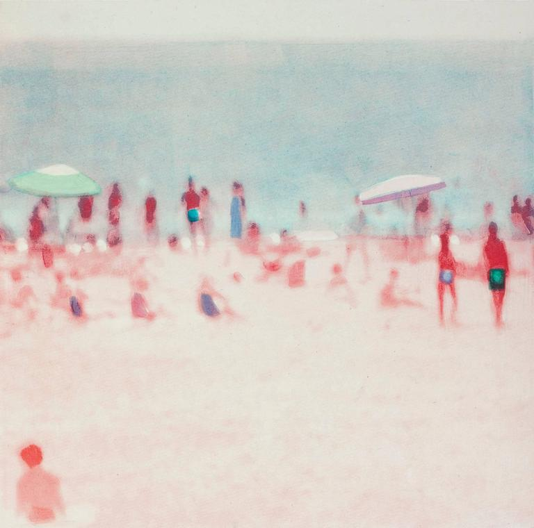 Isca Greenfield-Sanders The Wildwood Etchings (set of 3) Direct to plate photogravure and aquatint. Edition 35