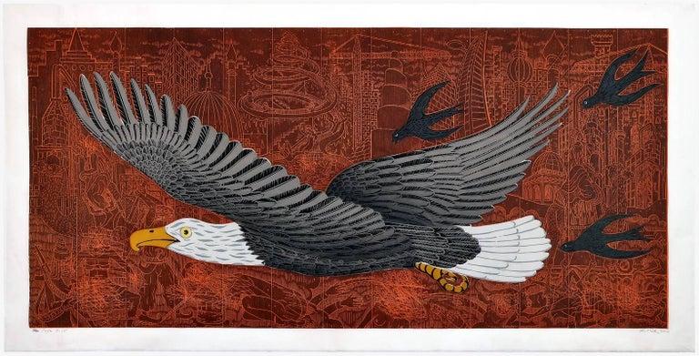 John Buck Animal Print - War Eagle
