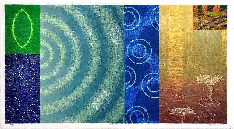 Hiroki Morinoue Abstract Print - Lotus