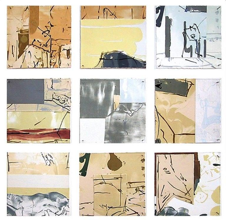 Brad Brown Print - Third Drift 37-45