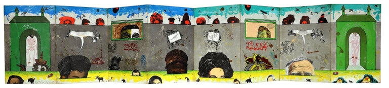 Enrique Chagoya Print - The Ghosts of Borderlandia