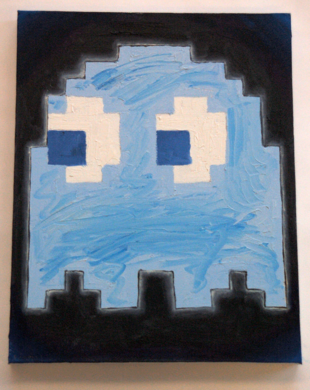 Pac-Man Ghosts (set of 4) - Painting by Patrick Lichty