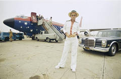 Elton John and his Airplane, Los Angeles, CA.