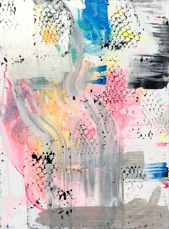 Martin Durazo Abstract Painting - Rusher 2