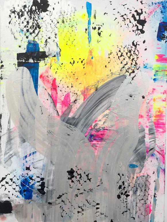 Martin Durazo Abstract Painting - Rusher 1