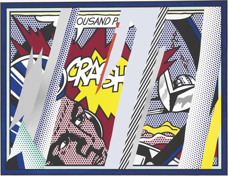 Roy Lichtenstein Figurative Print - Reflections on Crash, from Reflections Series