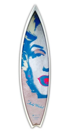 Warhol, Marilyn, Sand Surfboard