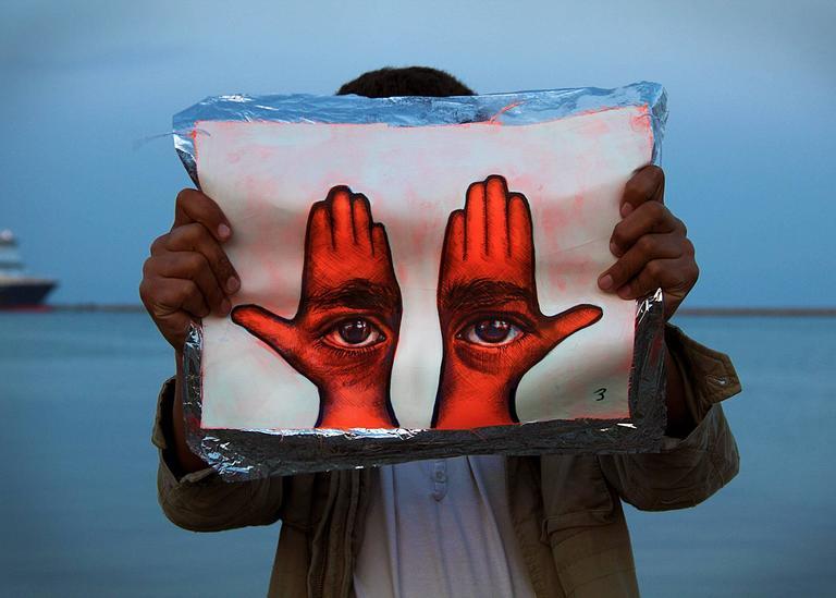 Khamsa III (Moria) - Contemporary Photograph by Aubrey Roemer