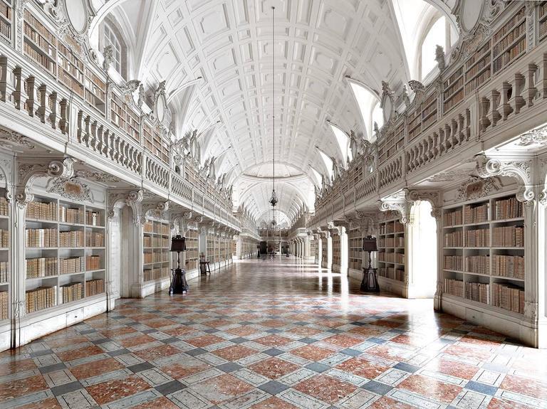 Biblioteca di Mafra I Portogallo